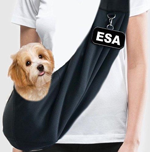 WORKINGSERVICEDOG.COM EZ-Sling Small Emotional Support Dog Sling - Specialty Carrier