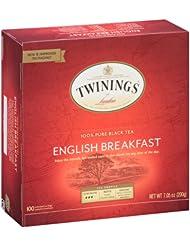美亚:Twinings Tea 英式早餐茶 100包, 现仅售$7.60, !