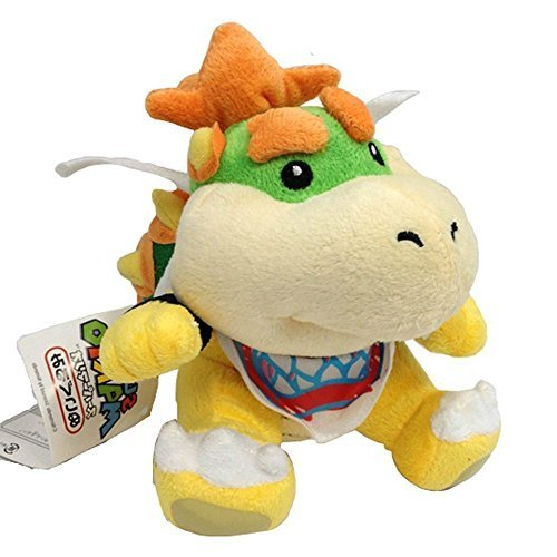 super mario bowser jr plush - 9