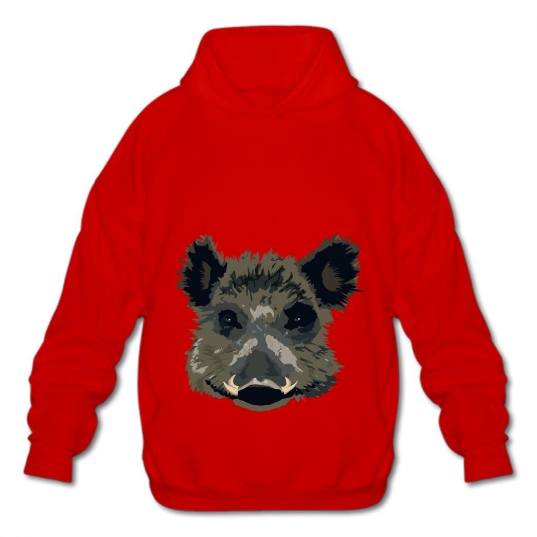 Eairouquji Fashion Fashion Hoodies-03 Cartoon Pig xtwt Hoodies Mens Cotton Pullover Sweatshirt