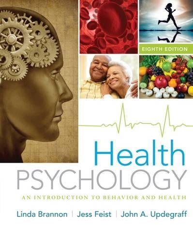 Health Psychology: An Introduction to Behavior and Health by imusti