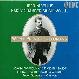 Sibelius:  Piano Quartet in C;