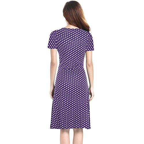 Damen kleid festlich kurzarm