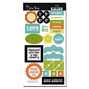 Garden Grove Time Flies Chipboard Shapes for Scrapbooking (SRC035)