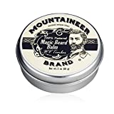 brand Magic Beard Balm by Mountaineer Band: All Natural Beard Conditioning Balm (WV Timber)