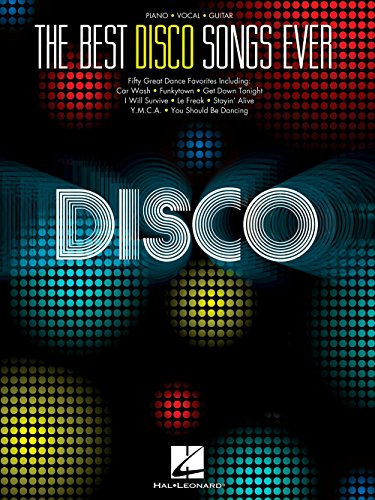 Hal Leonard The Best Disco Songs Ever for Piano/Vocal/Guitar (Disco Sheet Music)