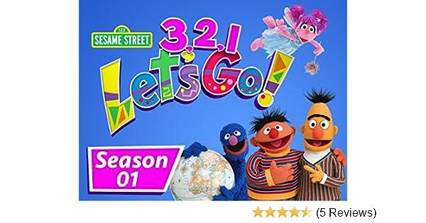 Amazon com: Watch Sesame Street: 3, 2, 1 Let's Go - Season 1 | Prime