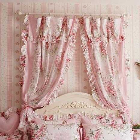 Fadfay Romantic Pink rose, stile shabby country americano ...