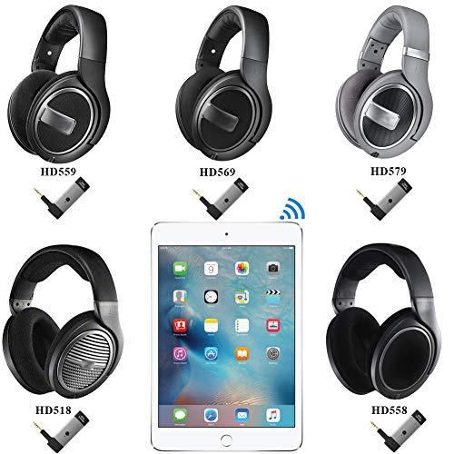 Wireless  Bluetooth 4.1 Receiver Adapter for Sennheiser HD598 HD599 Headphones