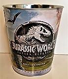 Jurassic World: Fallen Kingdom Movie Theater Exclusive 130 oz Metal Embossed Popcorn Tin #1
