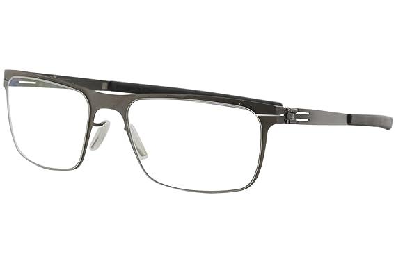 48e94e95a75 Image Unavailable. Image not available for. Color  ic! Berlin 135 Seekorso Flex  Graphite Black Eyeglasses 54MM