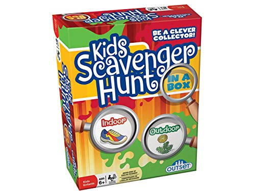 Kids Scavenger Hunt - an Active Game for Indoors or Outdoors - Ages 6+ (Best Scavenger Hunt Items)