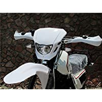 35W White Off Road Dirt Bike Enduro MX Supermoto Headlight For Suzuki RM RMX RMZ Honda CRF50F CRF Kawasaki KX LKX KTM EXC XC MXC 250