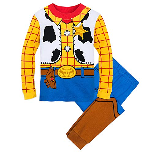 Disney Woody Costume PJ PALS for Boys Size 3 -