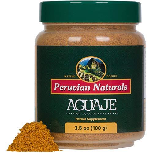 Aguaje Powder 3.5oz (100g) - Peruvian Naturals   Moriche Palm Fruit Powder from Peru (Buriti in Brazil)