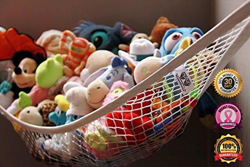 MiniOwls Storage Hammock Toy Organizer Large