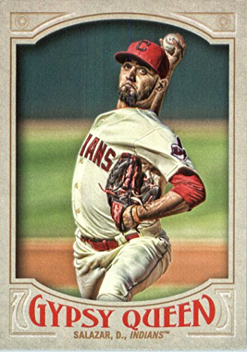 (2016 Topps Gypsy Queen Baseball #105 Danny Salazar Cleveland Indians )