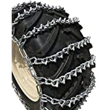TireChain.com 10.25 X 3.25, 10.25 3.25 Heavy Duty V-BAR Tire Chains Set of 2