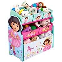 Charming and Functional Dora the Explorer - Multi-Bin Toy Organizer