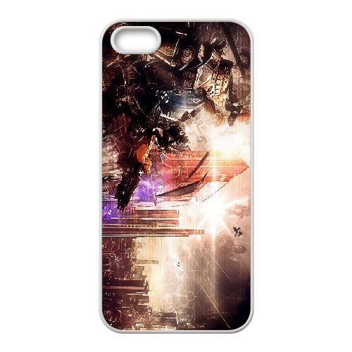 O9B33 Titanfall X6M2PT coque iPhone 4 4s cellulaire cas de téléphone couvercle coque blanche IG8JWD2JV