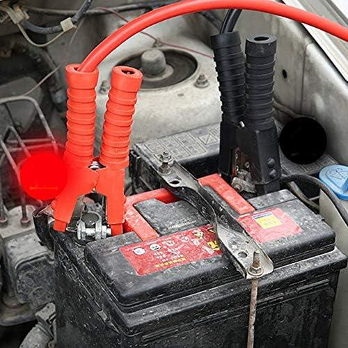 Peanutaor C/âble de Saut de Batterie Heavy Duty 500 1000 1800 AMP Alimentation de Secours Charge de d/émarrage Jump Start C/âble de propulseur de Batterie de Voiture Van