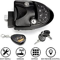 SAFETYON Keyless Entry System Car Alarms Remote Control Central Kit Door Lock Latch Handle Knob Deadbolt Camper Trailer