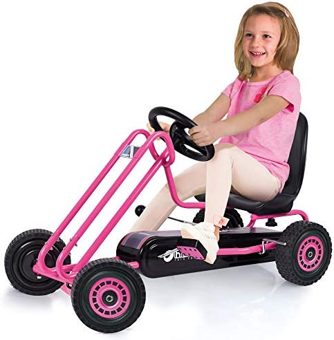 pink go karting for your kids