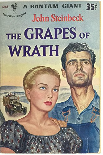 The Grapes of Wrath (a Bantam giant) #A866