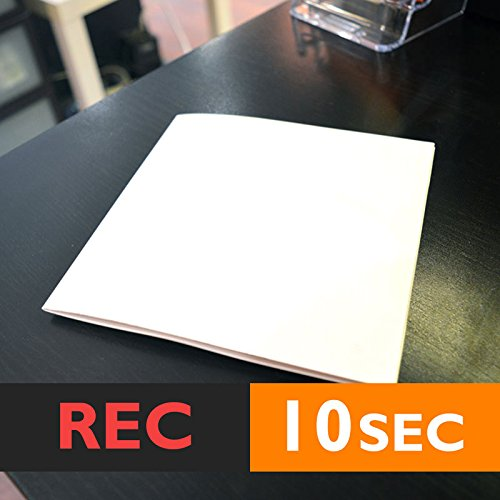 10s CARD 6x6 RECORDABLE GREETING CARD chip sound musical voice talking