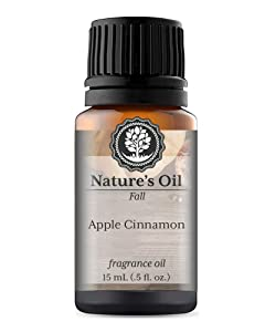 Apple Cinnamon Fragrance Oil (15ml) For Diffusers, Soap Making, Candles, Lotion, Home Scents, Linen Spray, Bath Bombs, Slime