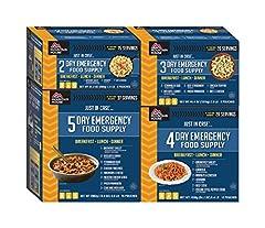 14-Day Emergency Food
