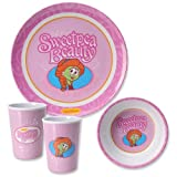 Sweet Pea Melamine Mealtime Set
