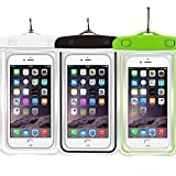 Best Sparin Iphone 6 Plus - 3Pack Waterproof Case Universal CellPhone Dry Bag Pouch Review