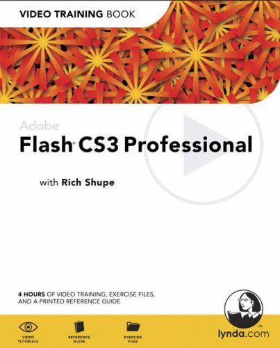 Adobe Flash CS3 Professional: Video Training Book-cover