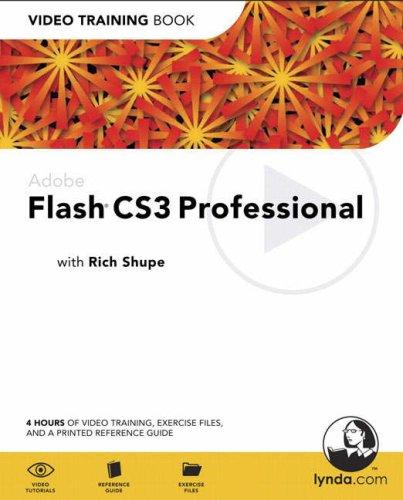 Adobe Flash CS3 Professional: Video Training Book-cover