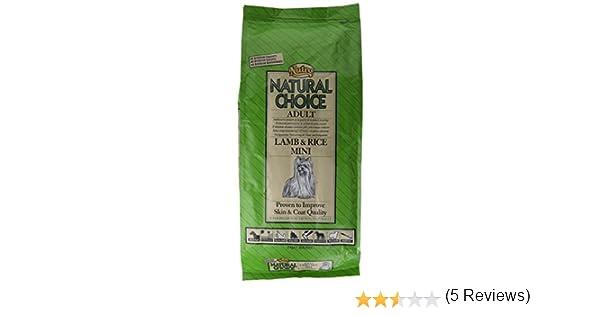 NUTRO natural Choice LAMB & RICE MINI - Comida para perros adultos, cordero y arroz mini 2kg: Amazon.es: Productos para mascotas