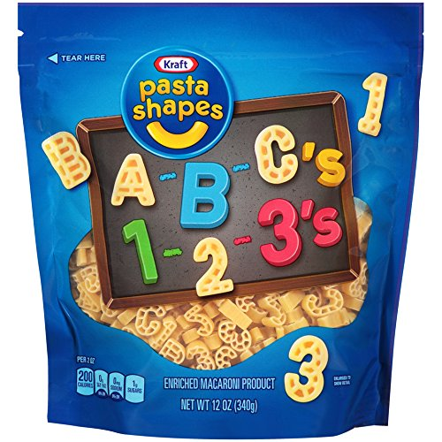 pasta alphabet - 6
