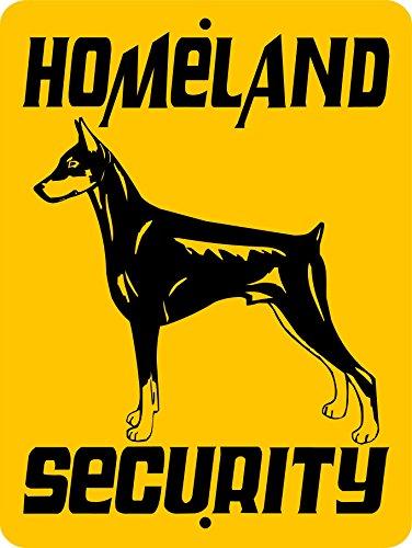DOBERMAN PINSCHER GUARD DOG SIGN 3270 9