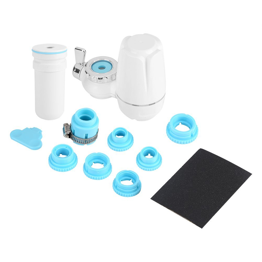 Haofy Faucet Water Filter System Water Purifier with Accessories 8pcs for Home Kitchen