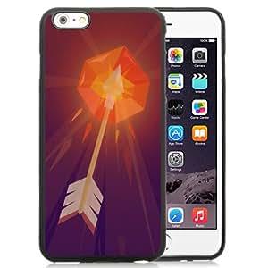 Fashion DIY Custom Designed iPhone 6 Plus 5.5 Inch Generation Phone Case For Burning Arrow Illustration Phone Case Cover