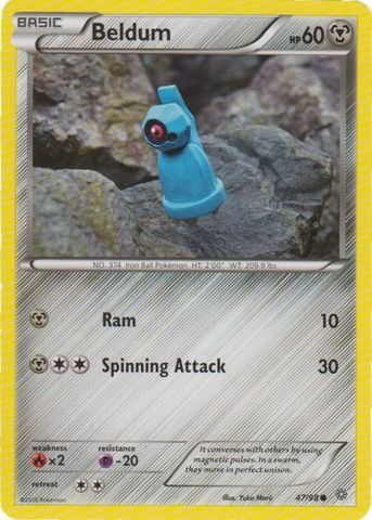 Pokemon Beldum 4798 Ancient Origins