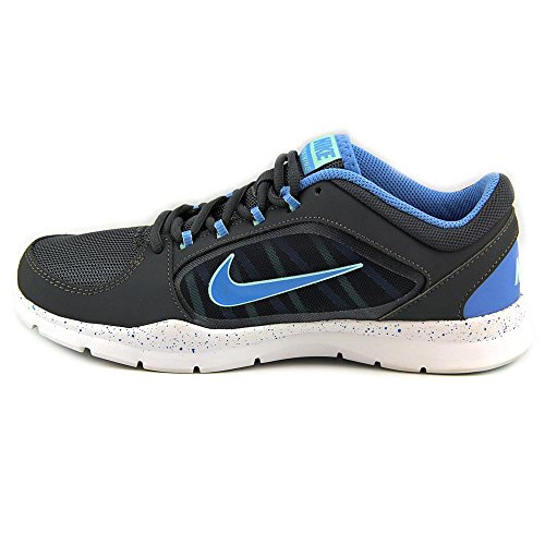 Nike Frauen Flex Trainer 5 Schuh Dunkelgrau / Medium Mint / University Blue