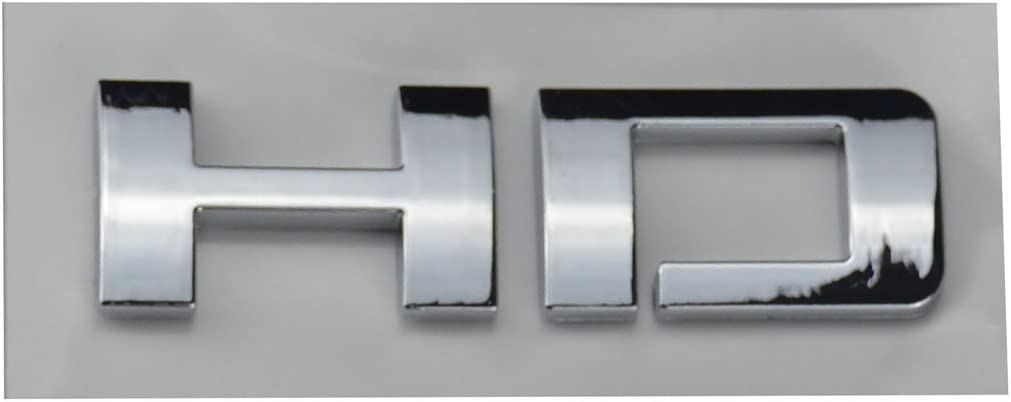Aimoll HD Nameplates Letter Emblems Badges Glossy for Chevrolet Gm 2500HD 3500HD Silverado Sierra 1pc Chrome