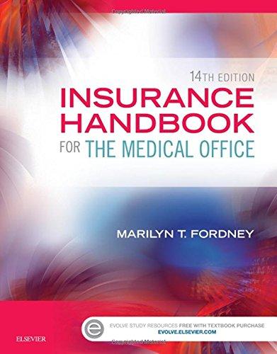 Insurance Handbook for the Medical Office, (Medical Office Handbook)