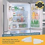 297147700 Refrigerator Freezer Door Key by