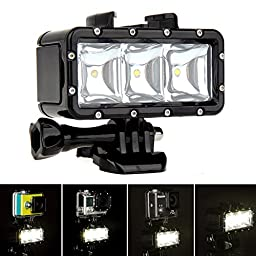 Lightdow Waterproof Underwater Diving LED Video Light