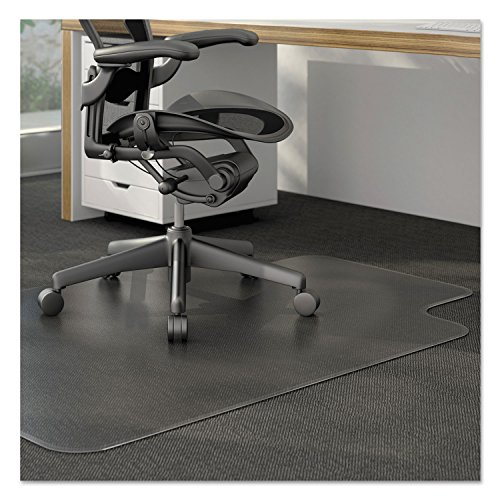 Universal 56806 Cleated Chair Mat for Low and Medium Pile Ca