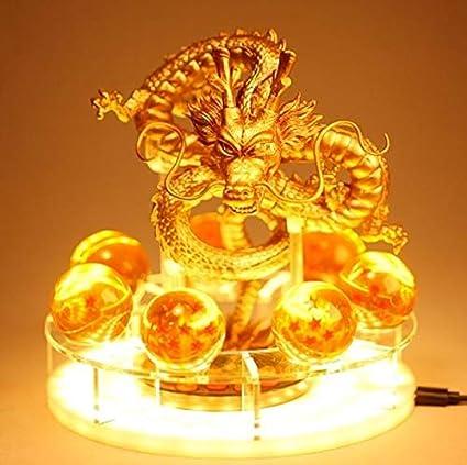 Anime Dragonball Z Super Gold Shenlong Action Model PVC Figurine Kids Toys Gifts