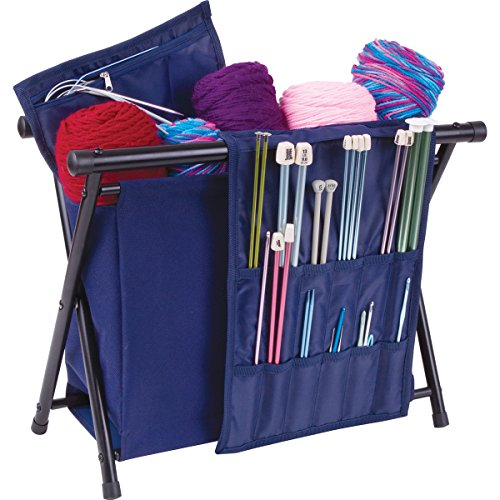 - ArtBin 6933AM NEEDLE ARTS CADDY, Navy