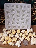 Popcorn Embeds 29 Cavity Silicone Mold 5064 Food-Soap-Candle-Resin-Flexible
